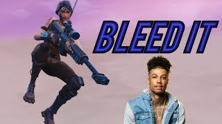"""Fortnite Montage - """"BLEED IT"""" (Blueface)"""