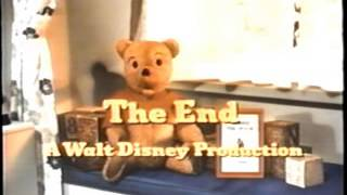 Closing To Winnie The Pooh And Tigger Too 1991 VHS