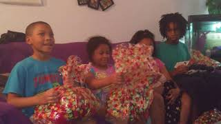 Opening of the xmas eve gifts ** do not own rights to music in the background