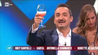 Nicola Savino saluta Quelli che il calcio 21/05/2017