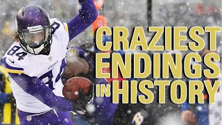 The Craziest Final 2 Minutes in NFL History | NFL Vault