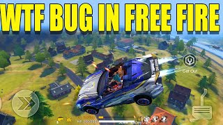 WTF moment in free fire|| Free fire new fly bug|| Run gaming