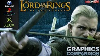 The Lord of the Rings The Two Towers   Graphics Comparison   ( GameCube , Ps2 , Xbox )