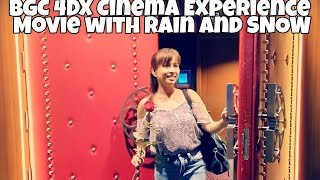 My 4DX Movie with Rain and Snow Experience