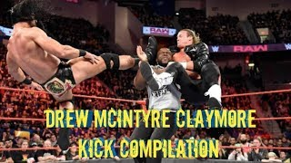 Drew McIntyre Claymore Kick Compilation (So Far)