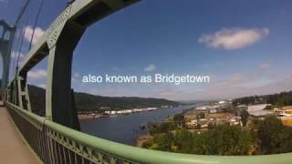 Bridgetown Portland and Multnomah falls