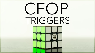 CFOP Triggers - How to learn algorithms faster ! Tips #1