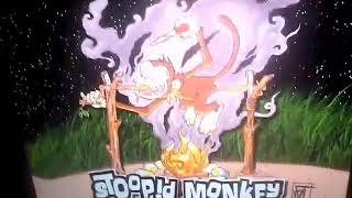 Stoppid monkey  fire