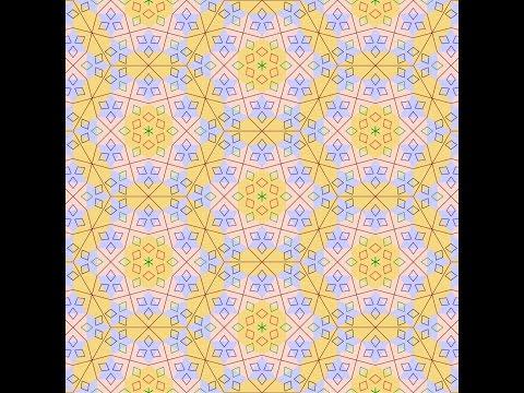 伊斯蘭的幾何拼貼 08B