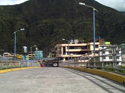 ride over san francisco bridge in banos ecuador !!!!