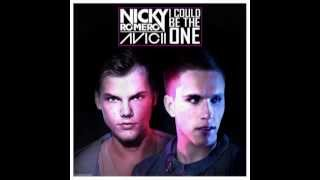 Avicii & Nicky Romero - I could be the one - Letra en español y en inglés en la pantalla