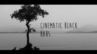 How to add Cinematic Black Bars to Sony Vegas(11,12,13)