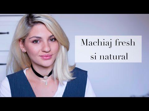 Machiaj fresh si natural