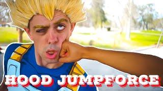 JUMP FORCE - Naruto & Sasuke vs Goku & Vegeta (HOOD DBZ & Naruto)