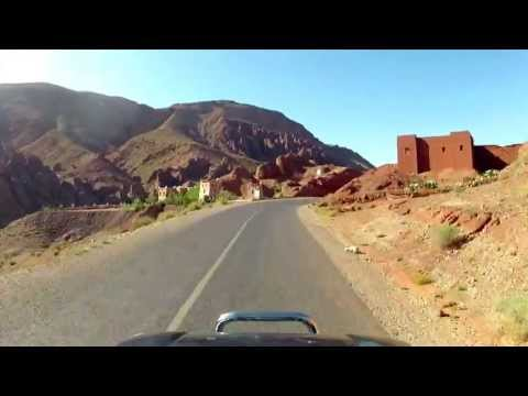 Driving the Atlas Mountains – Morocco – GoPro Time-lapse