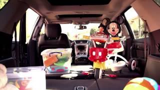 كيفية توضيب أغراض الطفل في صندوق السيارة
