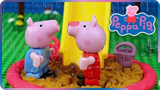 ♥ Peppa Pig - Playground Accident (Episode 3)