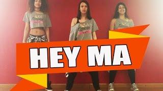 HEY MA - Pitbull & J Balvin ft. Camila Cabello / ZUMBA con ALBA DURAN