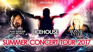 ICEHOUSE, Alan Parsons Live Project & Bonnie Tyler: Summer Concert Tour 2017