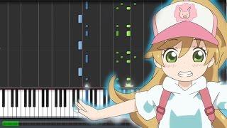 Amaama to Inazuma [甘々と稲妻] EP 7 Insert Song - SHARK!! (Piano Synthesia Tutorial + Sheet)
