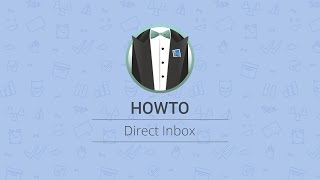 How to use Direct Inbox in Apple Mail width=