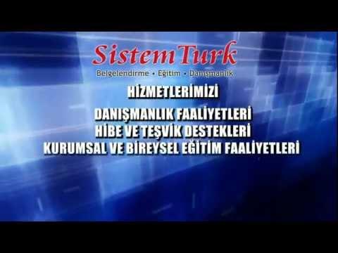 SistemTurk Uluslararası Belgelendirme Tanıtım Filmi
