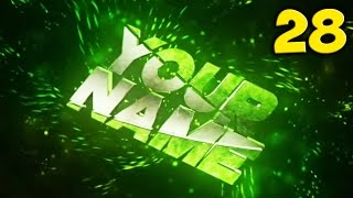 TOP 10 GREEN Intro Template #28 Cinema 4D & After Effects + Free Download
