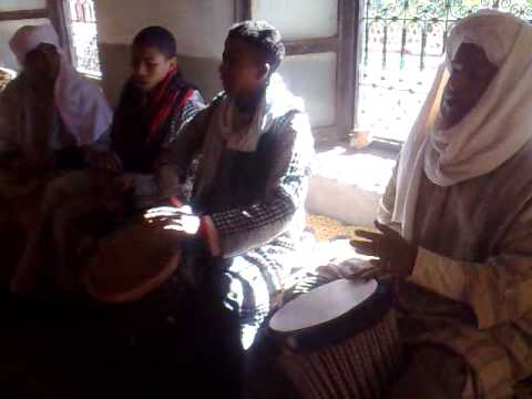 Berber Drum Music in Fint Oasis, Ouarzazate Morocco