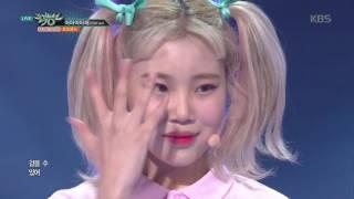 뮤직뱅크 Music Bank - 어마어마해(EDM Ver.) - 모모랜드 (Wonderful love - MOMOLAND).20170602