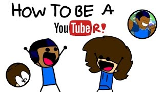 How to be a YouTuber! (Feat. Sam-burger3000)  Mateo Toons Shorts 