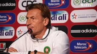 Hervé Renard : «Il y a beaucoup de points à améliorer avant la Coupe du monde»