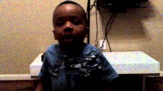 "Baby Ose singing P Square ""Chop my money"" (Jackie Chan Part)"