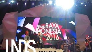 Leonidas - Maling Live at Konser 1000 Band Pekan Raya Indonesia 2016