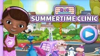 Doc McStuffins - Summertime Clinic Free Disney Junior Website Game (Family Friendly!)