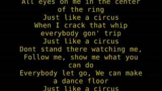 Britney Spears - Circus W/Lyrics