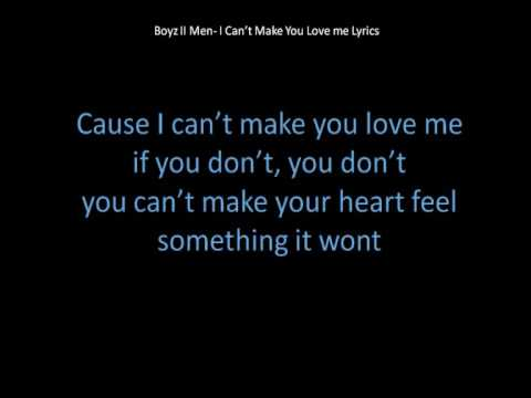 I can t love you lyrics