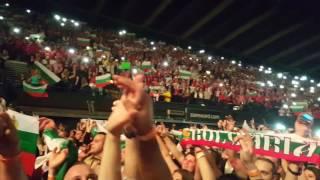 Bulgarian national anthemn - Slavi Trifonov and Ku-ku Band at Wembley Arena London, 21 May 2016