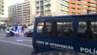 Amazing Parade Fans of Vitória Guimarães vs Boavista F.C - Nov. 2015