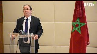 François Hollande plaide pour une consolidation des relations franco-marocaines à travers l'échange culturel
