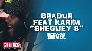 "Gradur feat. Karim ""Sheguey 8"" en live #LaRadioLibre"