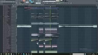 Olly James - Smokin' (Original Mix) (FL Studio Remake + FLP)