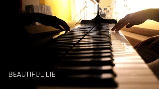 Batman v Superman - Beautiful Lie (Opening Credits music) - Piano Cover