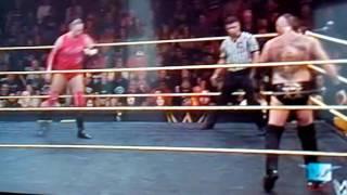 WWE aliester black vs kassius ohno
