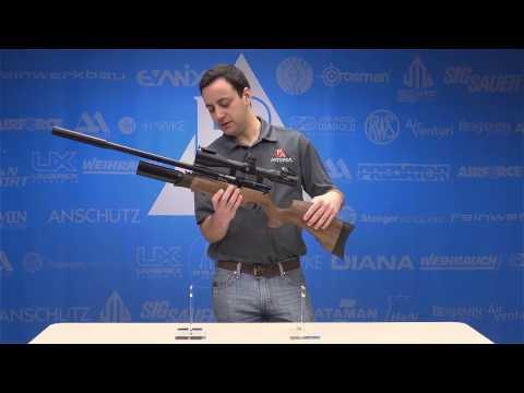 Video: BSA R10 SE Precharged Pneumatic Airgun    Pyramyd Air