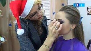 Machiaj de sarbatori realizat de Adelia Costic-Ivanciuc, make-up artist la Moldova 1