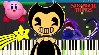 Build Our Machine Fits With ANY Song on Piano - Bendy and The Ink Machine