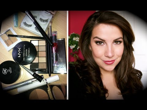 My TV News Makeup Routine for HD