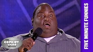 Lavell Crawford⎢The World Gone Crazy⎢Shaq's Five Minute Funnies⎢Comedy Shaq