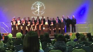 Chase choir singing You raise me up at Milton Keynes Festival of the Arts 2016