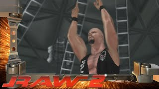 WWE RAW 2 Steve Austin Entrance